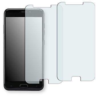 Gionee S9 screen protector - Golebo crystal-clear protector (deliberately smaller than the display, as this is arched)