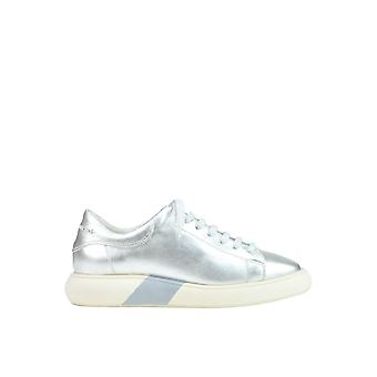 Manuel Barceló MCGLCAK03053E ladies silver leather of sneakers