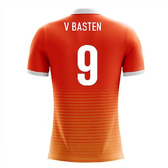 2018-19 Holland Airo Concept Home Shirt (V. Basten 9) - Kids