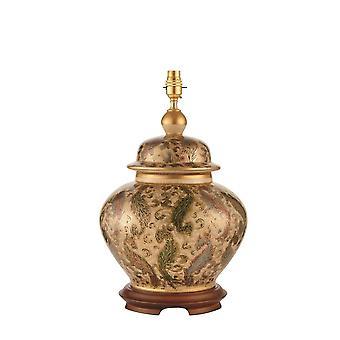 Intérieurs 1900 Kutani Cachemire unique grande céramique Table lumineuse L