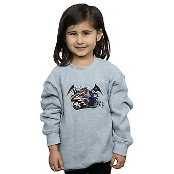 DC Comics Girls Batman TV Series Bat Bike Sweatshirt