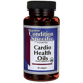 Swanson Cardio Health Oils 60 Softgels (Sport , Athlete's health , Omega 3-6-9)