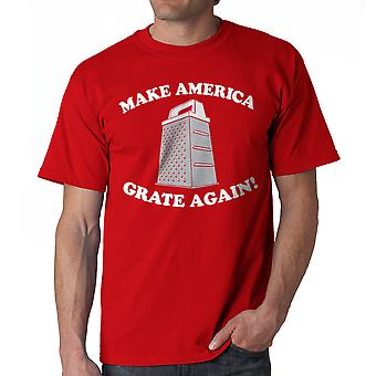 Humor Grate Again Men's Red Funny T-shirt