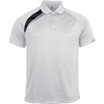Kariban Proact Mens Short Sleeve Polo Shirt