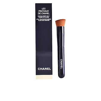 Les Pinceaux 2 In 1 Foundation Brush Fluid & Powder For Women
