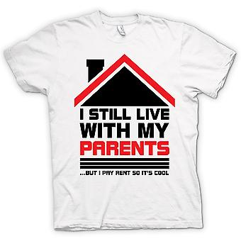 Womens T-shirt - I Still Live With Parents - Funny