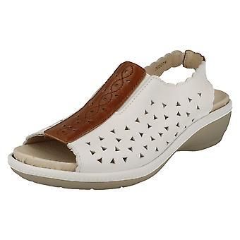 Ladies Easy B Peep-Toe Sandals Gloucester