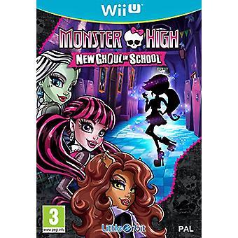 Monster High New Ghoul in School (Nintendo Wii U)