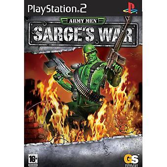 Leger mannen Sarges oorlog (PS2)
