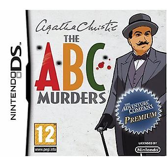 Agatha Christie The ABC Murders (Nintendo DS) - Factory Sealed