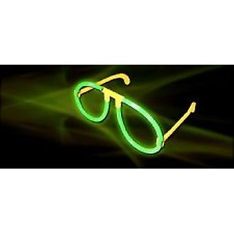 Brillent dans les lunettes noires