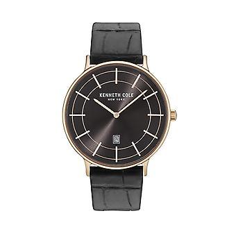 Kenneth Cole New York reloj cuero reloj de pulsera KC15057014
