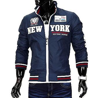 Men transition jacket windbreaker raincoat jacket College windbreaker NEW YORK 14