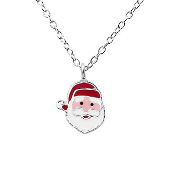 Santa Claus - 925 Sterling sølv halskjeder - W23584X
