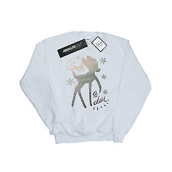 Disney Men's Bambi Winter Deer Sweatshirt