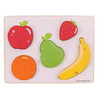 Holzpuzzle Obst, 5pcs.