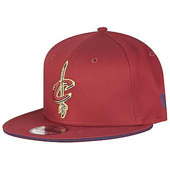 New Era 9Fifty Snapback Cap - Cleveland Cavaliers rot