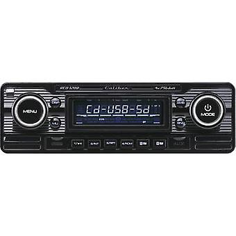 Kaliber Audio teknologi RCD-120B bilstereo Retro design