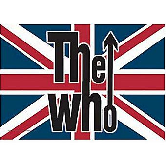 The Who Union Flag Large Fabric Poster / Flag 1100Mm X 750Mm