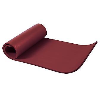 Yogamatte Dunkelrot 190 x 60 x 1,5 cm