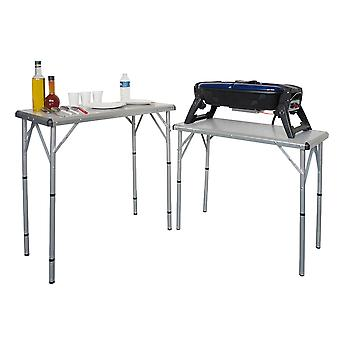 Aluminium 6 in 1 Folding Camping Table