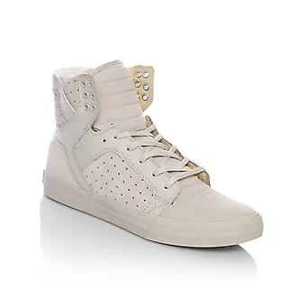Supra Silver Cloud Skytop Shoe
