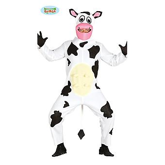 Cow costume for adult unisex Carnival costume of animal farm