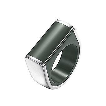 Joop Damen Ring Edelstahl Silber Schwarz Pieces JPRG00028A