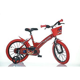 Mirakuløse Ladybug cykel 16 tommer diameter
