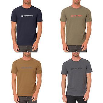 Zwierząt męskie Marrly Logo Krótki rękaw załogi szyję Koszulka Tee Top