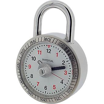 Gift Time Products Padlock Miniature Clock - Silver