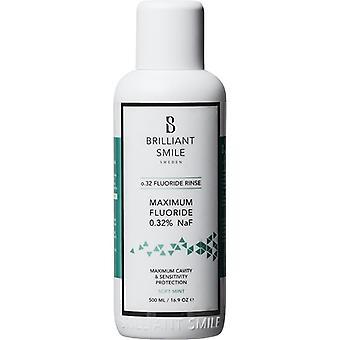 Sorriso brilhante o. 32 Flouride enxaguamento 500 ml