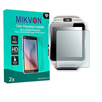 Kiptop Cooler Android Smartwatch Screen Protector - Mikvon Clear (Retail Package with accessories)