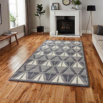 HK 1374 szary prostokąt kości słoniowej dywany nowoczesne dywany