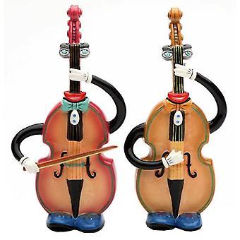 Музыкальные Muse вертикально бас соль и перец Shakers
