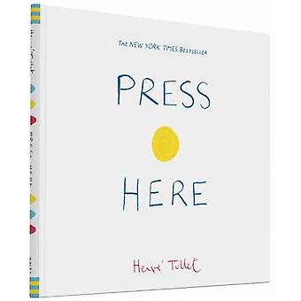 Press Here by Herve Tullet - 9780811879545 Book