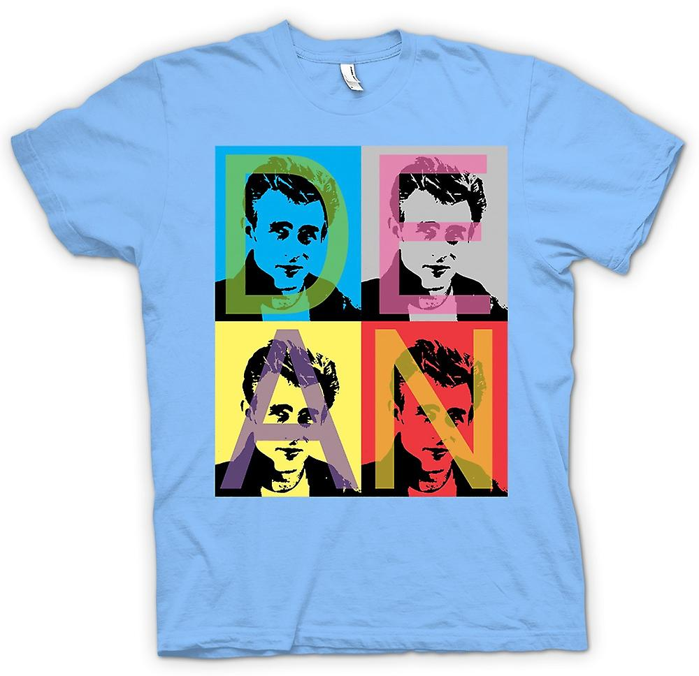Mens t-skjorte - James Dean Rebel - Pop Art - Warhol