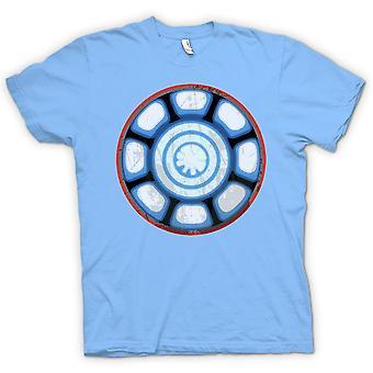 Womens T-shirt - Iron Man Arc Reactor Heart - Cool