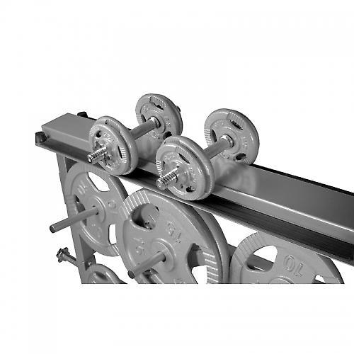 Rack de rangement pour poids et halt�res 30/31mm - Argent� GS003