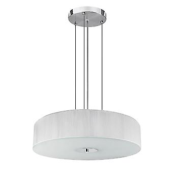 Searchlight 7156WH Melita White Ceiling Pendant