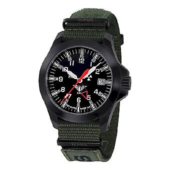 KHS watches mens watch black platoon GMT LDR KHS. BPGLDR. NXTO1
