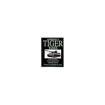 Carri armati tedeschi Tiger: Tiger della Germania serbatoi DW per Tiger 1 progettazione, produzione e modifiche