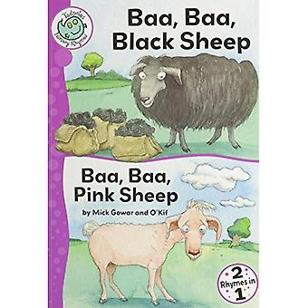 BAA, Baa, Black Sheep et Baa Baa, mouton rose (têtards