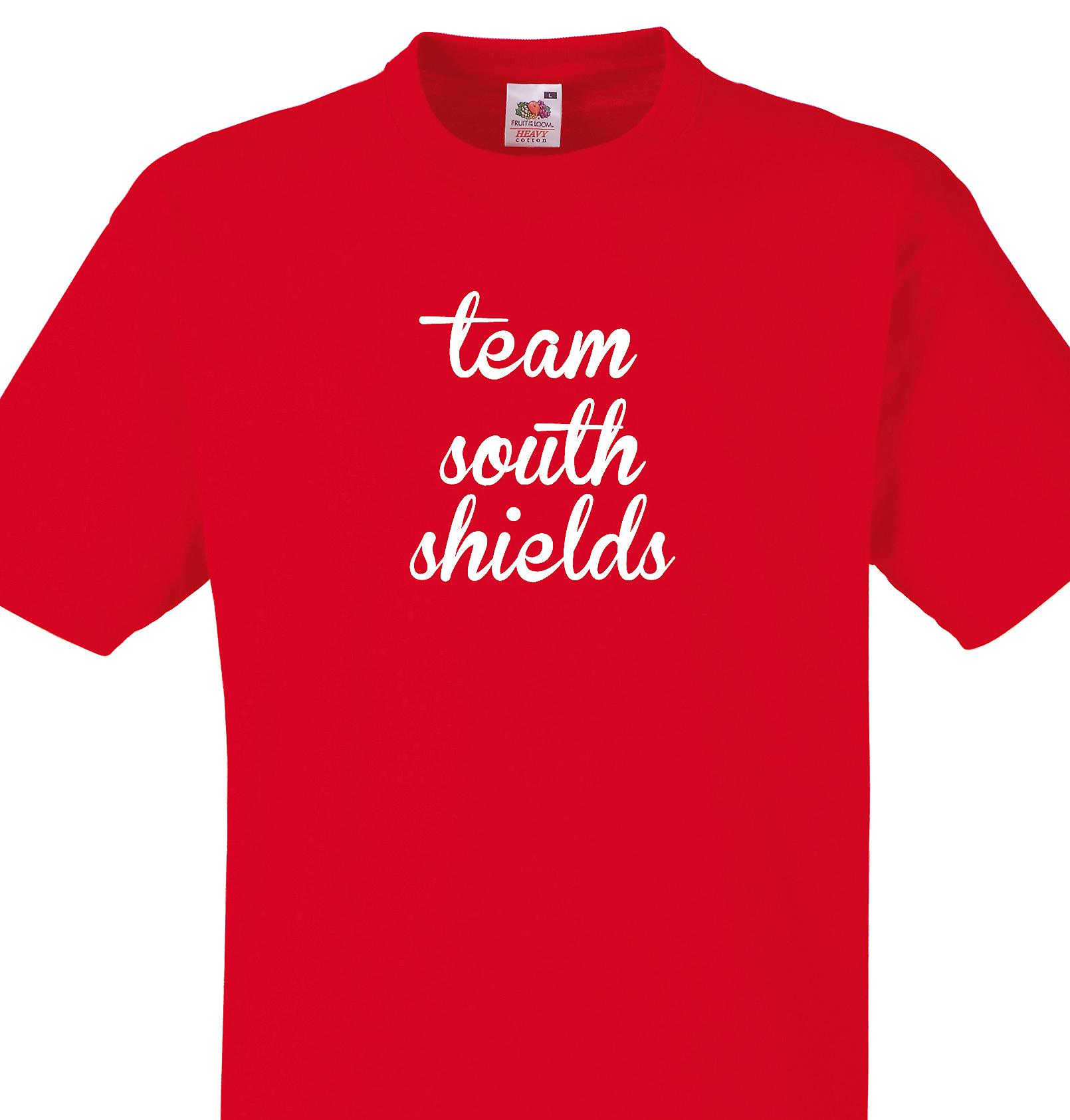 Team South shields Red T shirt