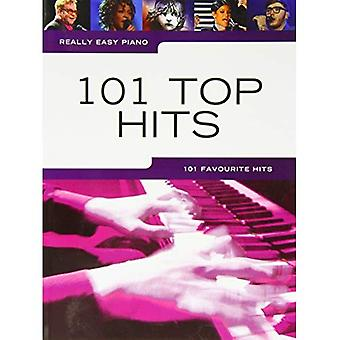 Really Easy Piano 101 Top Hits Piano Book