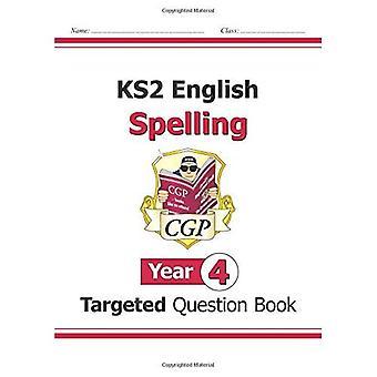KS2 Inglés dirigido pregunta libro: ortografía - año 4