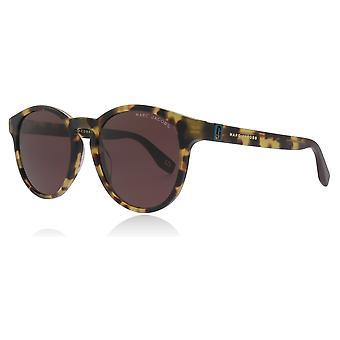مارك جاكوبس مارك 351/S SCL الأصفر/هافانا مارك 351/S جولة نظارات العدسة الفئة 3 حجم 52 مم
