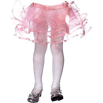 Petticoat Tulle W/Bow Chld Pk