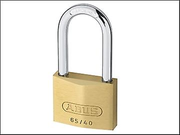 ABUS 65/40HB40 40mm Brass Padlock 40mm Long Shackle Keyed 6406