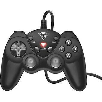 Trust GXT 24 kompaktowy Gamepad Gamepad PC czarny